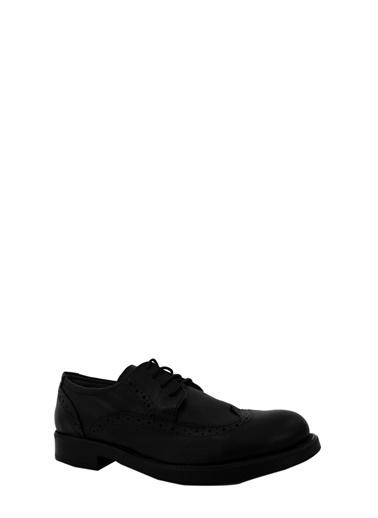 Derigo Siyah Erkek Klasik Ayakkabı 17110 Siyah